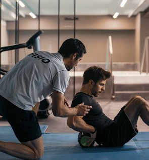 Physiotherapy at the gym 25 minutes